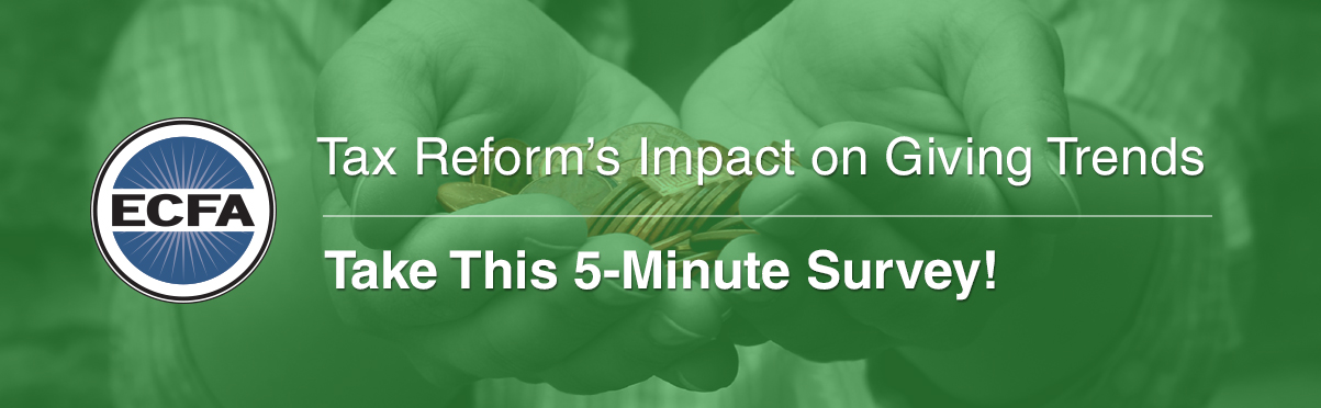 Survey - Tax Reform's Impact on Giving Trends