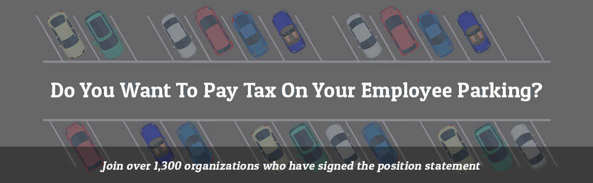 Stop the Tax on Nonprofit Employee Parking