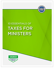 10 Essentials of Taxes for Ministers