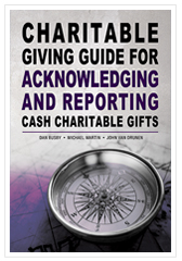Charitable Gifts Acknowledging and Reporting