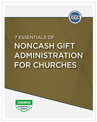 7 Essentials of Noncash Gift Administration
