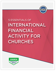 5 Essentials of International Financial Activity for Churches