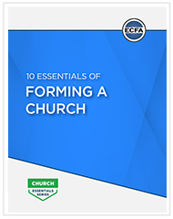 10 Essentials of Forming a Church