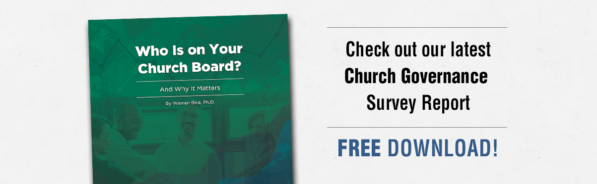 Church Gov Survey Report