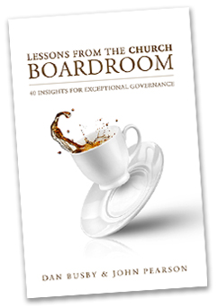 Lessons from the Church Boardroom